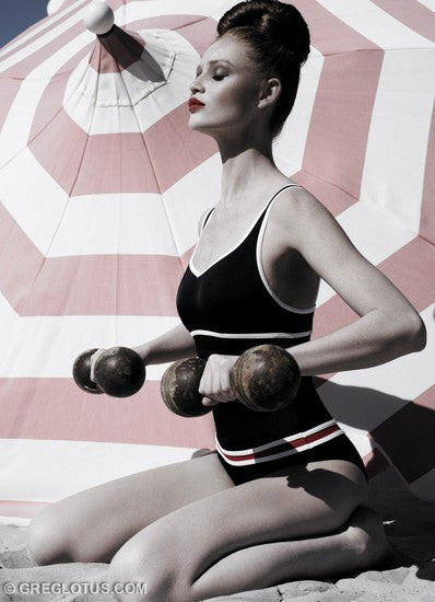 "Greg Lotus ""Belle with Dumbbells"""