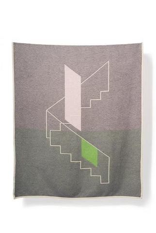A to B Cotton Blanket/Throw by Yanyi Ha