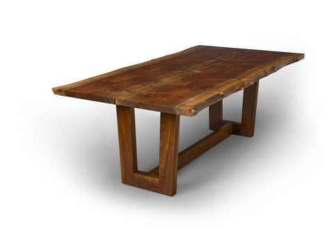 Duette Extension Table with Live Edge