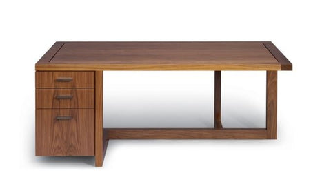 Altura - Offset Desk with Arris Ottoman