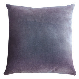 Silk Velvet Rorschach Pillow, Iris
