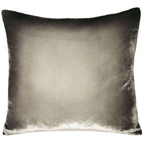 Nisi B - Silk Velvet Pillow, Gunmetal