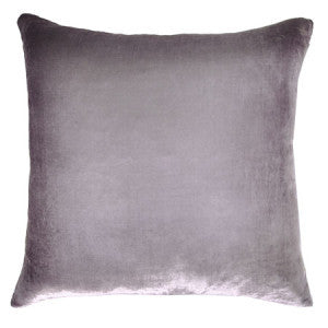 Silk Velvet Rorschach Pillow, Opal