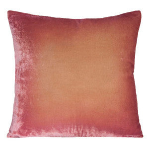 Silk Velvet Pillow, Desert Rose