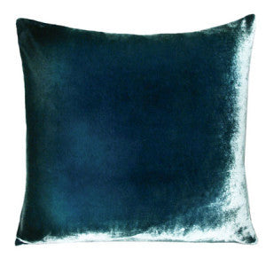 Nisi B - Silk Velvet Pillow, Shark