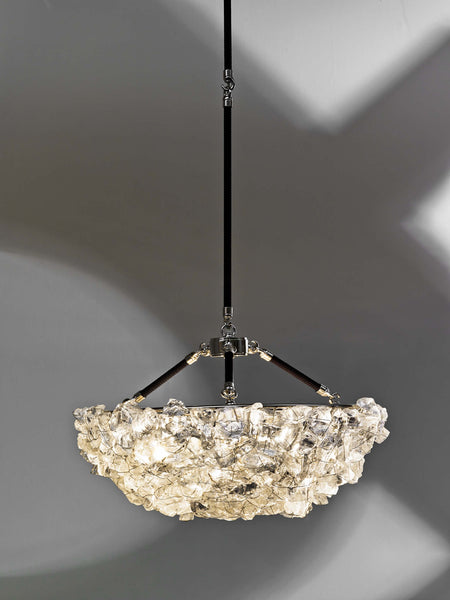 Rock Crystal Chandelier RC48 by CL Sterling