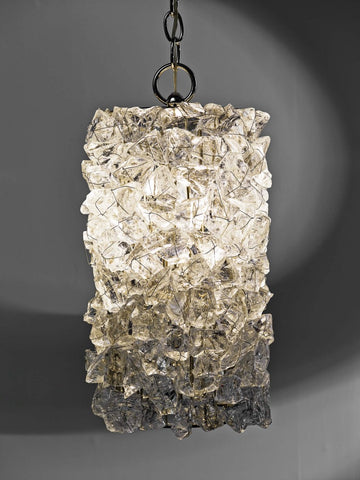 Rock Crystal Pendant RC49 by CL Sterling