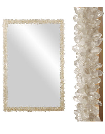 Rock Crystal Mirror