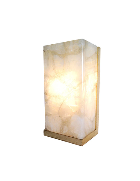 Rock Crystal Sconce