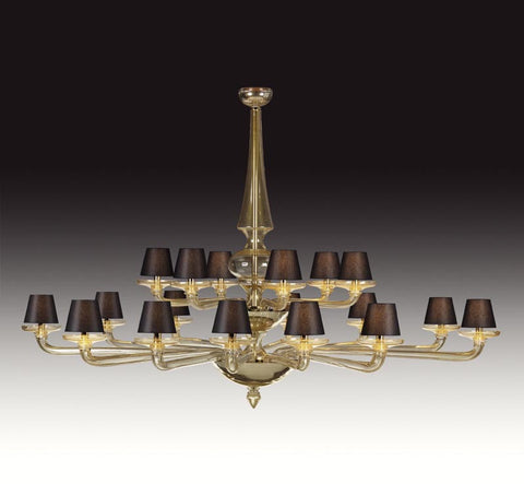 Seguso Coloniale Chandelier