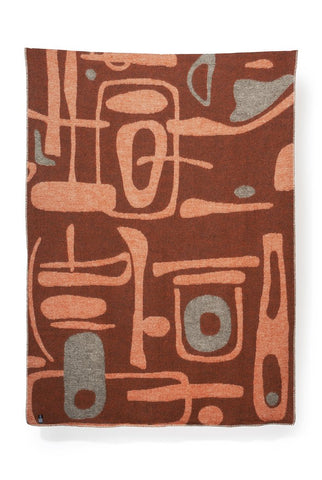 Mobiles Wool Blanket by Denise Carbonell