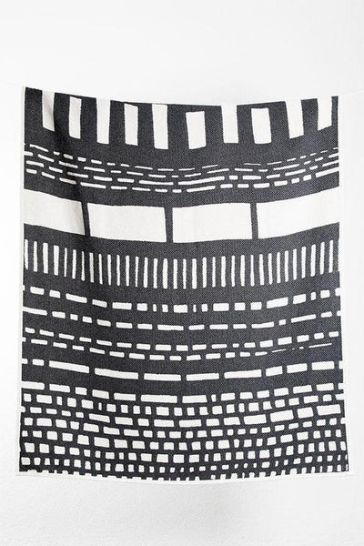 CoopDPS Sketch 1 Cotton Blanket / Throw by Nathalie Du Pasquier & George Sowden