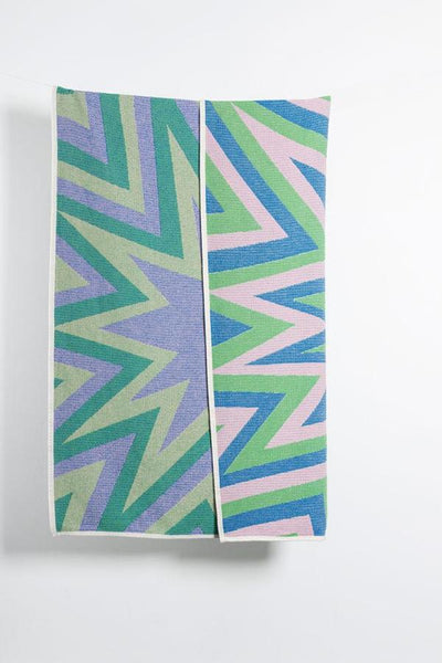 BANG! Blanket / Throw by Liz Collins - Green