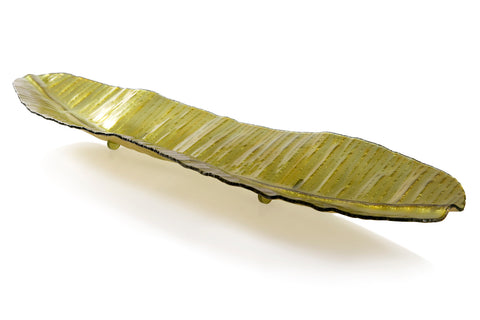 Large Banana Leaf Tray, Green