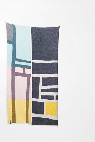 Bojagi 2 Cotton Blanket / Throw by Michele Rondelli