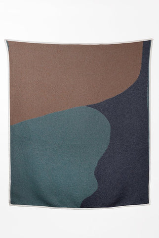 Charleston Cotton Blanket / Throw by Alison McKenna