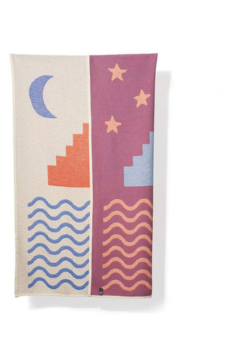Paros Cotton Blanket / Throw by Sophie Probst