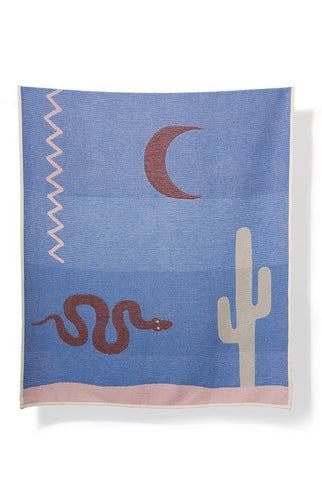 Santa Fe Cotton Blanket / Throw by Sophie Probst