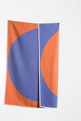Shibuya Cotton Blanket / Throw by Michele Rondelli