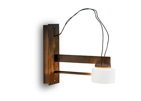 With Wall Sconce