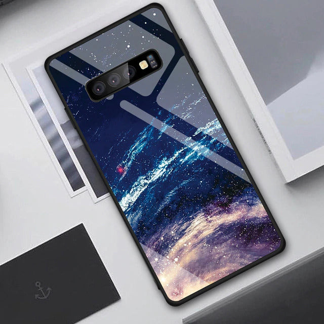 Case exclusiva Star Space Galaxy | Para Samsung Galaxy S10, S9 e S8