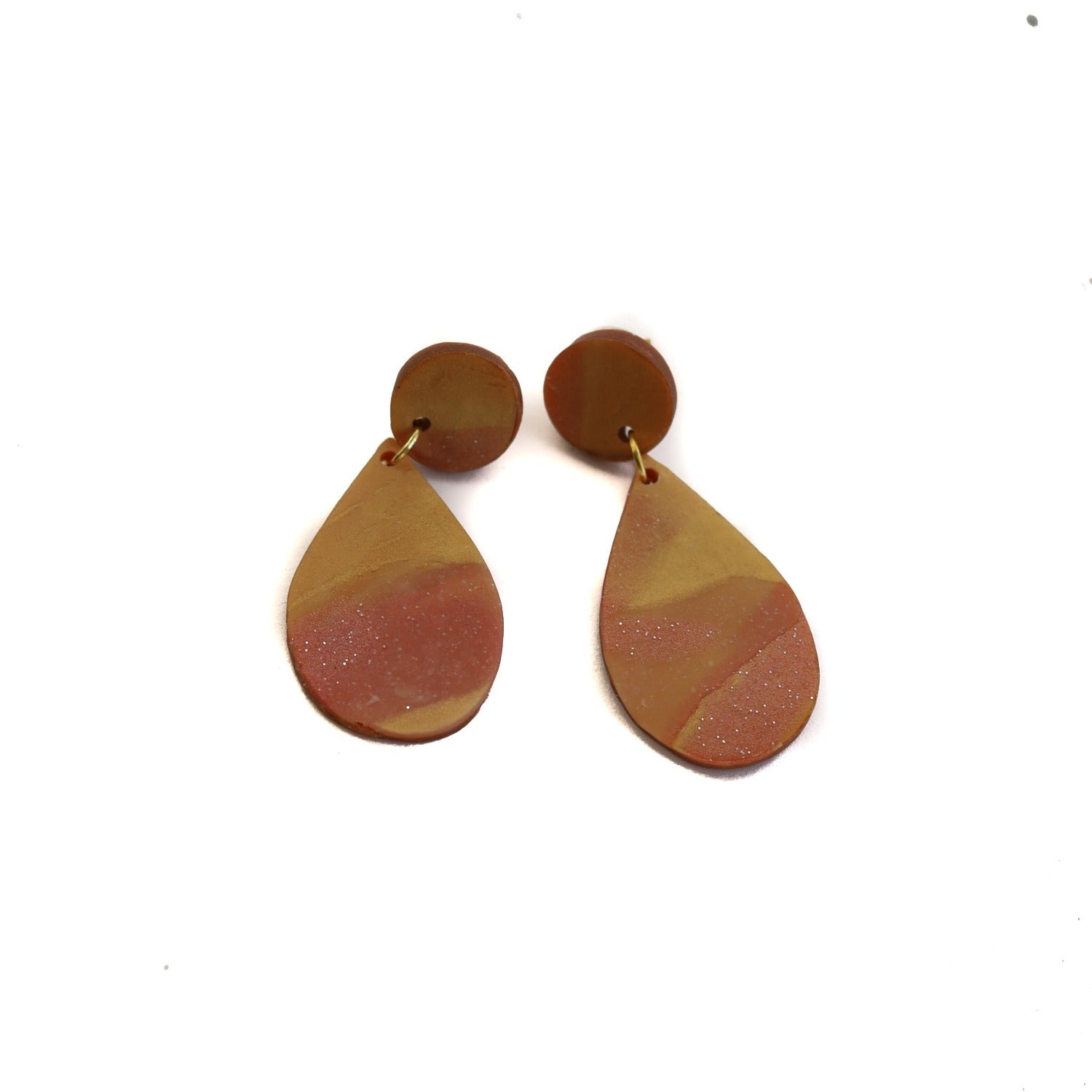 clay earring set: sunset eileen