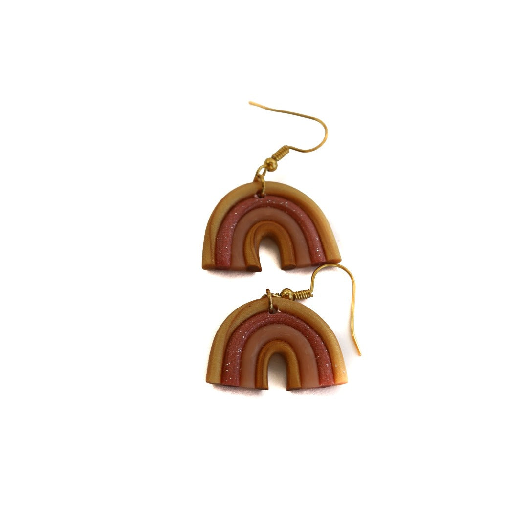 clay earring set: sunset matilda