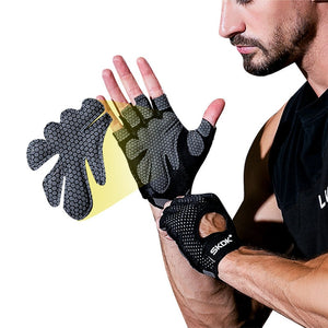 Sport Gloves for Training Gloves with Wrist Support for Fitness Gloves full palm protection for pull-up fitness A1