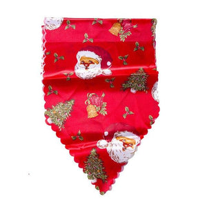 180cm Christmas Table Runners, Mat, Tablecloth,  Decorative Santa Claus, Table Runners New Year 2020