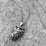 Necklace Men Stainless Steel Necklace for Mens Long Chain Layered Arrowhead Arrow Pendant Necklaces Jewelr