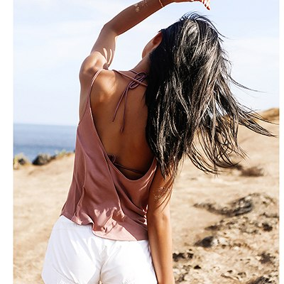 Backless Sports Tank Tops For Women Pink Sleeveless Gym Yoga Shirts White Workout Clothes