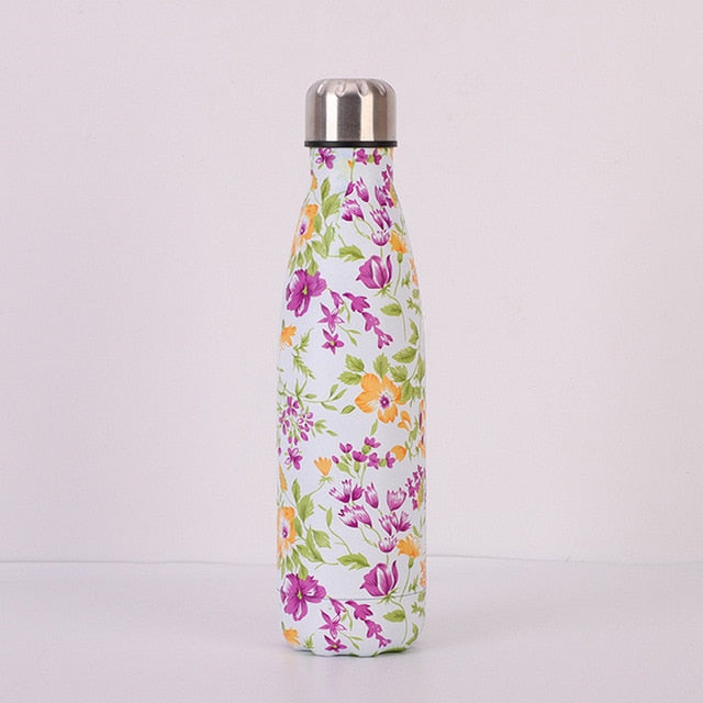 Stainless Steel Vacuum Insulated Water Bottle Flask Thermal Sports Chilly 500ML
