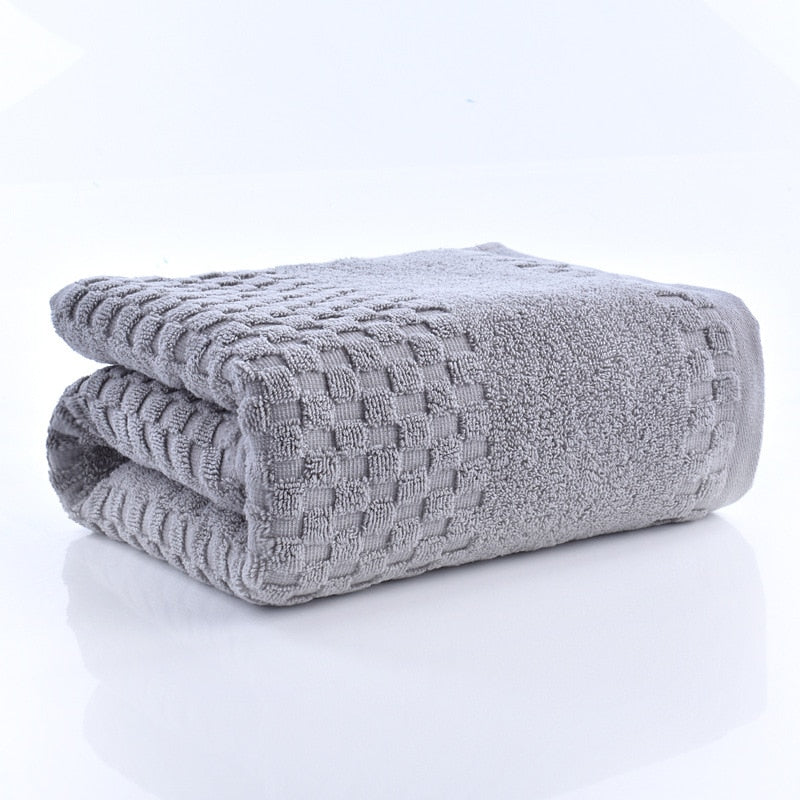 70x140cm Bamboo Charcoal Coral Velvet Bath Towel