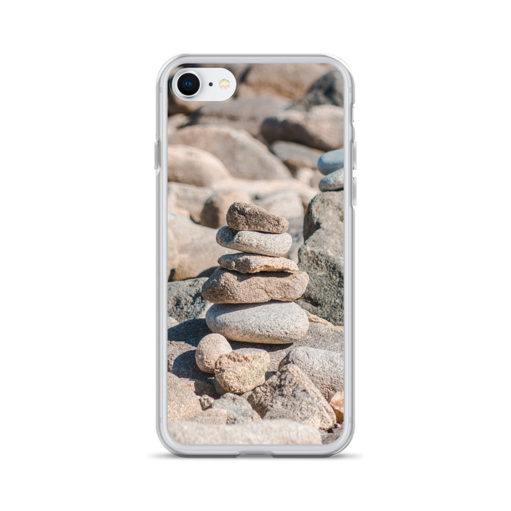 Stack of stones iPhone Case