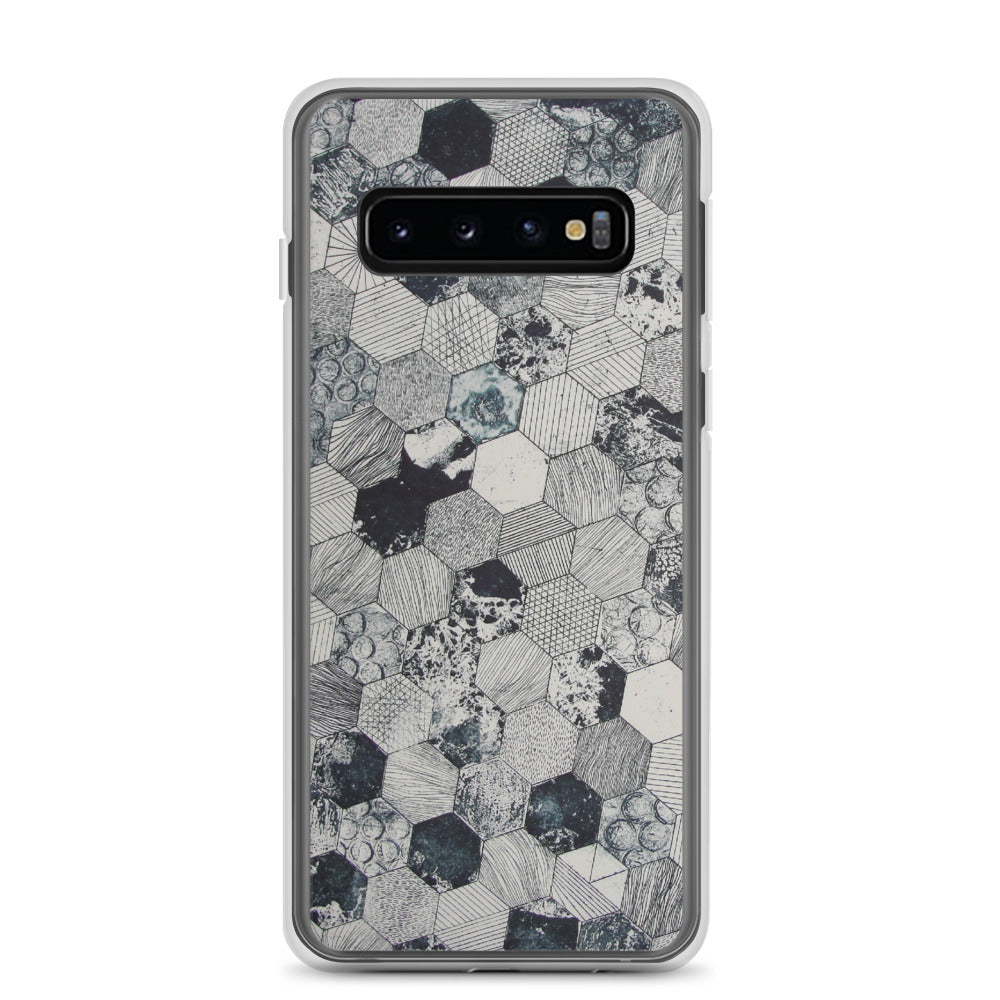 Grey scale Samsung Case