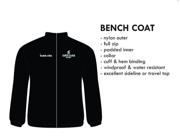 Bench Jacket (SCUTS Rugby)