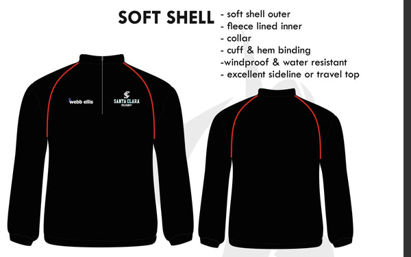 Soft Shell Jacket (SCUTS Rugby)