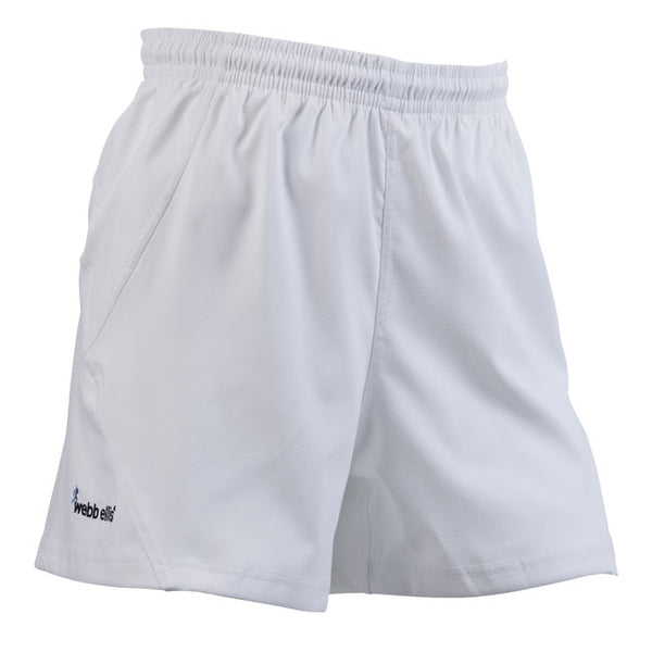 Accelerate Rugby Shorts WITH POCKETS - White