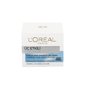 Loréal Paris 3 Etkili Ferahlık Krem Normal/Karma 50 Ml