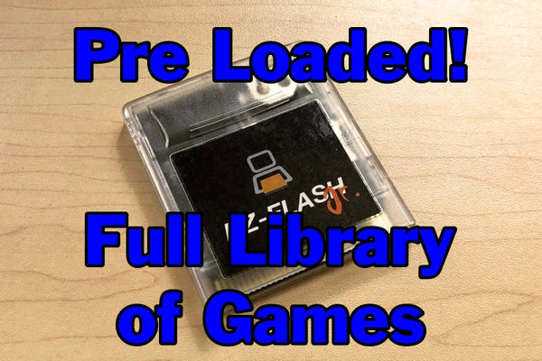 EZ-FLASH Junior Pre Loaded with Full Library