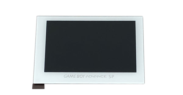 FunnyPlaying Game Boy Advance SP IPS Replacement LCD & Glass Lens White