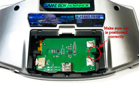 GBA Game Boy Advance 1500mAh USB-C Rechargeable Battery Mod