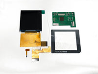 "Game Boy Pocket 2.6"" Original Size IPS Backlight LCD Screen Mod Kit AIO-XL"