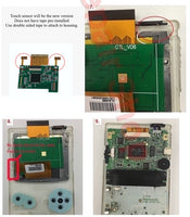 Nintendo Game Boy Color TFT Drop-in Backlight Mod with Color Palettes