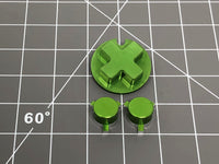 Game Boy Pocket Aluminum Buttons by RetroCNC