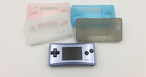 GBM Game Boy Micro TPU Protective Soft Plastic Case