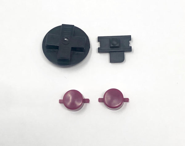 Game Boy DMG Original Replacement Buttons (Opaque)