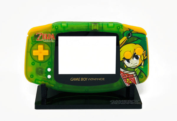 FunnyPlaying Game Boy Advance IPS Ready UV Printed Shell Zelda Minish Cap