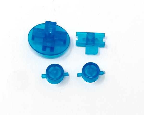 Game Boy Original Replacement Buttons (Clear)