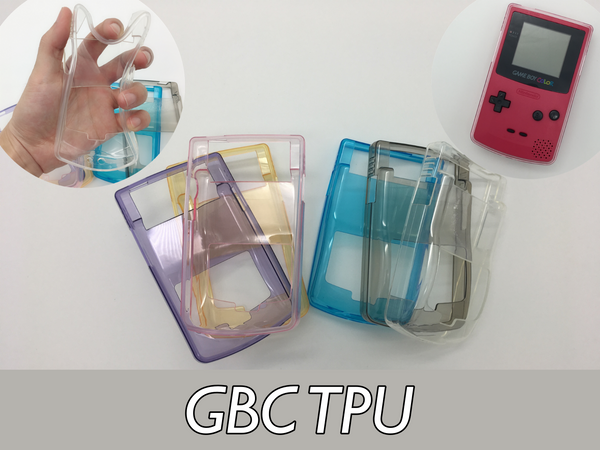 GBC Game Boy Color TPU Protective Soft Plastic Case
